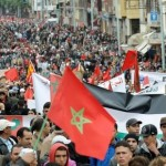 Moroccans Protest Against Monarchy